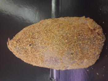 Jambonneau cuit pané